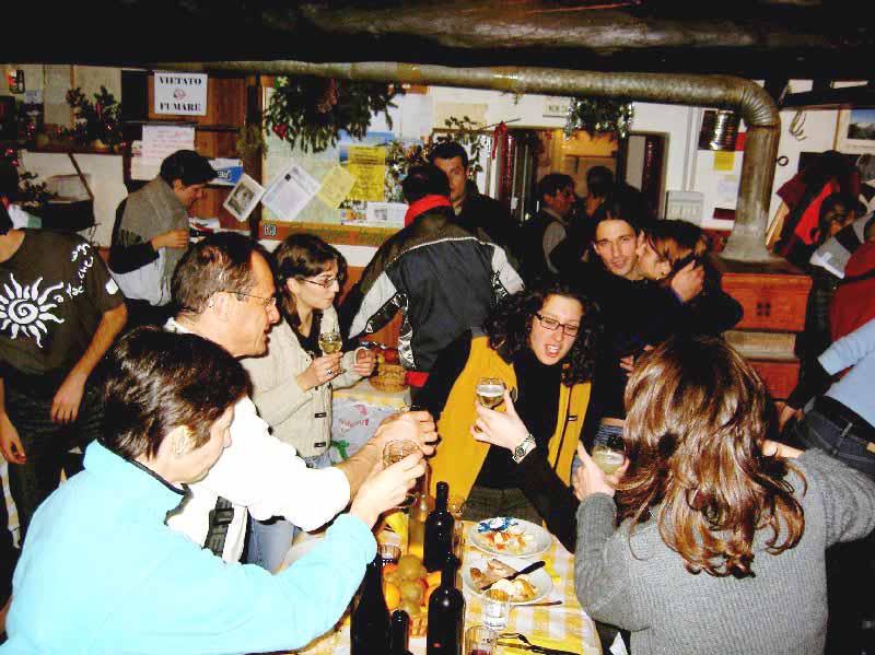 Rifugio baita iseo capodanno 2005 for Baita asiago capodanno